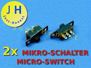 Stk-2-x-Schalter-Slide-Switch-MIKRO-MINI-Microswitch-Mikroschalter-A275