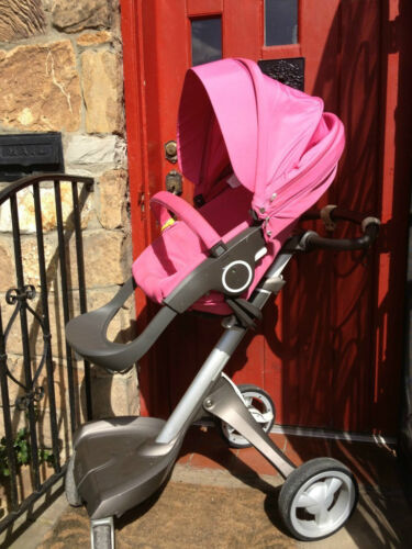 Stokke xplory *limited* edition pink stroller with lots of extras in Baby, Strollers | eBay