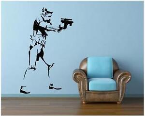stormtrooper star wars life size wall art sticker big