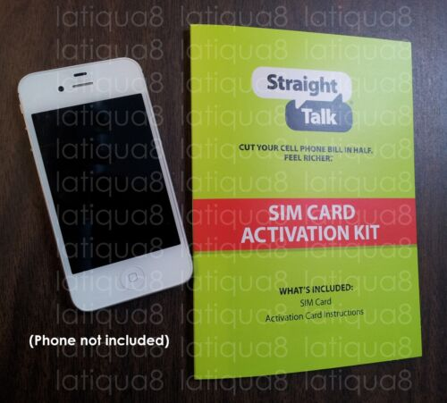 Straight Talk MICRO SIM CARD for T-Mobile and Unlocked AT&T iPhone 4/4S only in Cell Phones & Accessories, Phone Cards & SIM Cards, SIM Cards | eBay