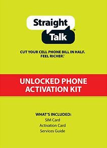 Straight Talk STANDARD SIM card T Mobile - iPhone 3G, 3GS, Galaxy S2, GSM Phones in Cell Phones & Accessories, Phone Cards & SIM Cards, SIM Cards | eBay