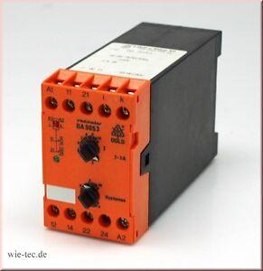 Stromrelais-BA9053-0-1-1A-Dold-Soehne-KG-3172