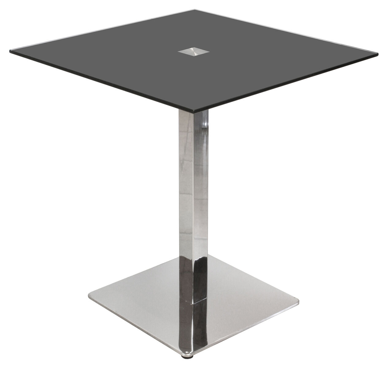 Glass dining table dining furniture ebay for Black glass dining table