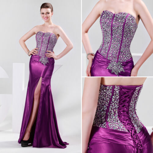 ... Bridesmaid Evening Formal Ball Gown Party Prom Long Dress | eBay