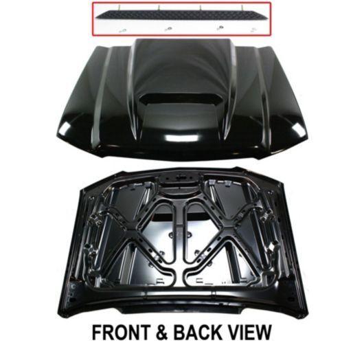 Styleline New Cowl Hood Primered Full Size Truck Chevy Chevrolet Silverado 1500
