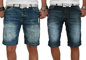 stylische herren sommer jeans shorts kurze hose bermuda denim short neu w29 w38 ebay. Black Bedroom Furniture Sets. Home Design Ideas
