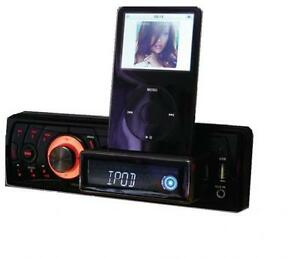 How to connect ipod to car stereo without Bluetooth or Aux input