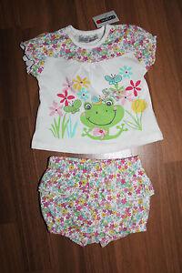 Suesses-2-tlg-Baby-Set-Hose-Shirt-Gr-56-von-Ergee-NEU