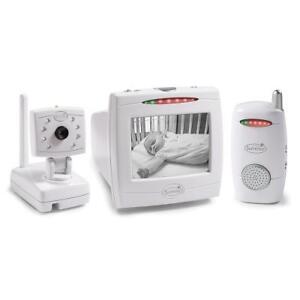 summer infant baby monitor 02740 camera 5 tv audio only device set new sealed. Black Bedroom Furniture Sets. Home Design Ideas