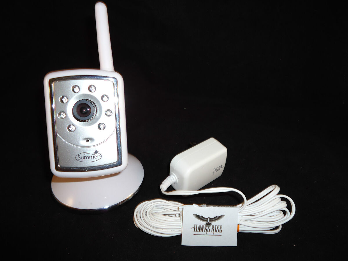 Summer Infant Slim and Secure Extra Video Baby Monitor Camera 02830 02800 02805