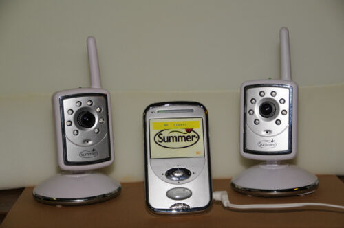 Summer Slim & Secure Color Video Baby Monitor, 2 Cameras..GC!..Safety @ home in Baby, Baby Safety & Health, Baby Monitors | eBay