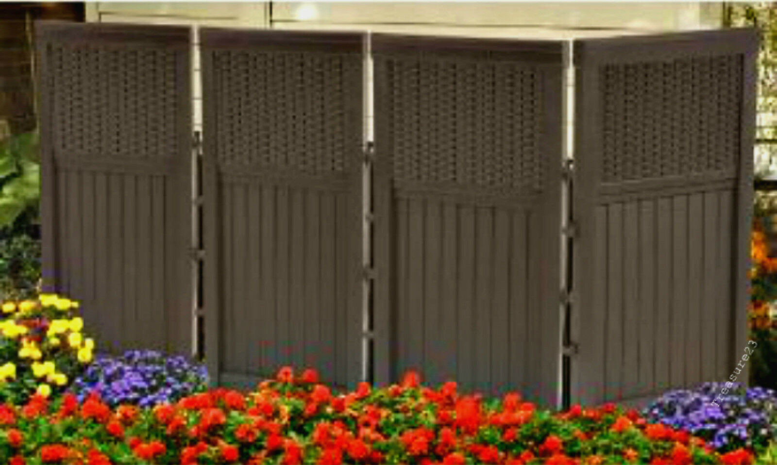 Resin Fence Panels Fencing