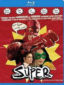 Super (Blu-ray Disc, 2011, Canadian)