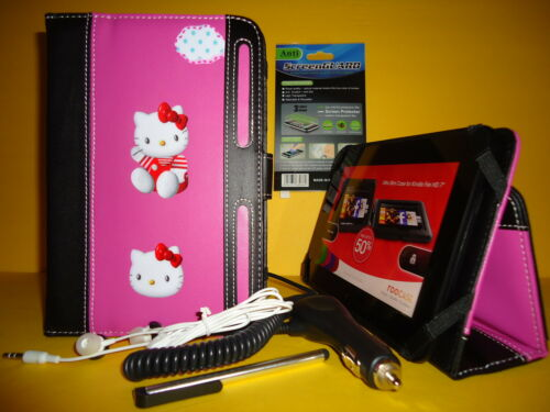 Super Cute Kitty Case Fits Kindle Fire HD 7'' Get 5 items with FREE SHIPPING#1 in Computers/Tablets & Networking, iPad/Tablet/eBook Accessories, Cases, Covers, Keyboard Folios | eBay