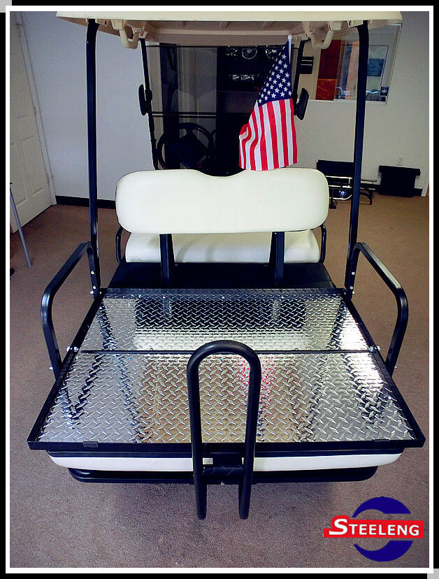 Duty Rear Flip Seat Kit for Club Car Golf Cart DS Model Buff