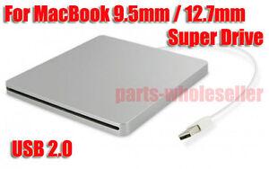 Super External USB enclosure caddy case for MacBook 9.5mm 12.7mm SATA superdrive