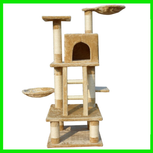 Super-Fun Cat Tree Tower House Condo Scratcher Post Furniture Pet's Toy Bed in Pet Supplies, Cat Supplies, Furniture & Scratchers | eBay