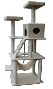 "Super Large 72"" Cat Tree House Toy Furniture with Condo Scratcher Posts in Pet Supplies, Cat Supplies, Furniture & Scratchers 
