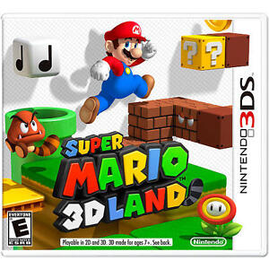 Super Mario 3D Land  (Nintendo 3DS, 2011...