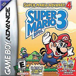 Super Mario Advance 4 Super Mario Bros. 3 Nintendo Game Boy Advance