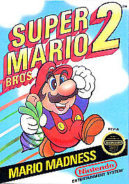 Super Mario Bros. 2  (NES, 1988)