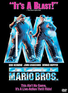 Super Mario Bros. (DVD, 2003)
