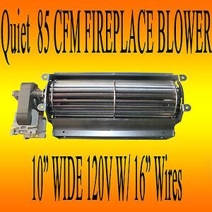 Fireplace Blower Blower Fan For Gas Fireplace Inserts