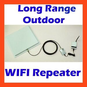 long range outdoor wifi repeater high gain antenna 802 11n router rpka drp17v m ebay. Black Bedroom Furniture Sets. Home Design Ideas