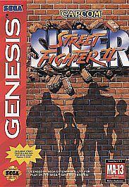 Super Street Fighter II The New Challengers Sega Genesis, 1994