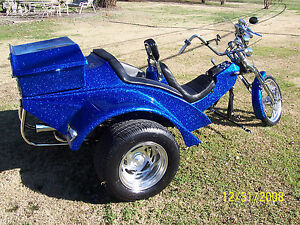 Fiberglass Trike Bodies Used http://www.ebay.com/itm/SuperWide-Body-Fiberglass-VW-Trike-Mold-Chopper-Rat-Rod-Kit-Car-Motorcycle-/221206653403