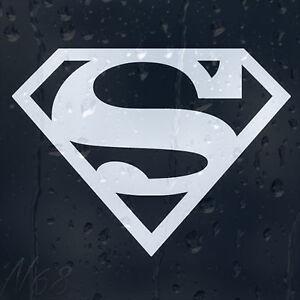 Superman Logo for Cars Windows