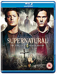 Supernatural - Series 4 - Complete (Blu-...