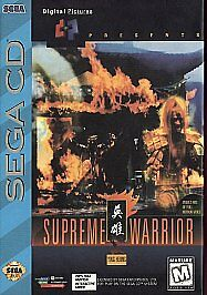 Supreme Warrior  (Sega CD, 1994)