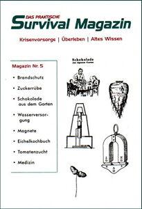 Survival-Magazin-Nr-5-Eichelkochbuch-Gartenbau-Wasser