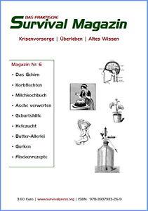 Survival-Magazin-Nr-6-Geburtshilfe-Milchkochbuch-Krisenvorsorge-Prepper-Essen
