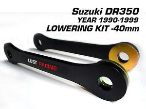 Suzuki DR350 lowering Kit 1990 1999 Drop Links Suspension Linkage ...