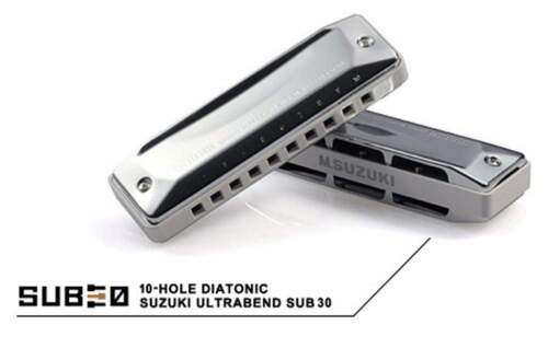Suzuki SUB30 UltraBend Revolutionary 10 Hole Diatonic Harmonica C KEY M I JAPAN in Musical Instruments & Gear, Harmonica, Contemporary | eBay