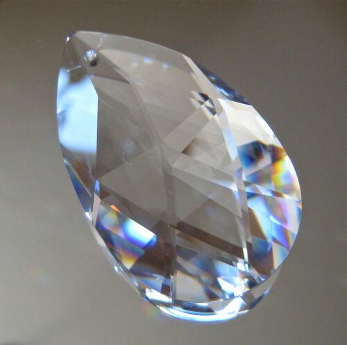 swarovski crystal teardrop pear shaped prism ornament