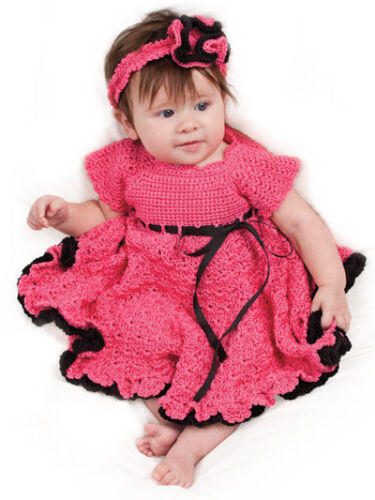 Baby Dress Crochet Patterns » Modern Crochet Patterns