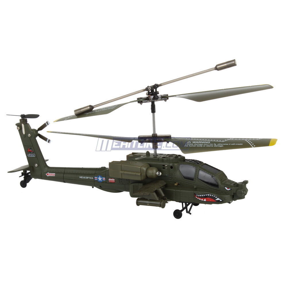 Apache RC Remote Control Helicopter 3 5CH 3 5 Channel Gyro