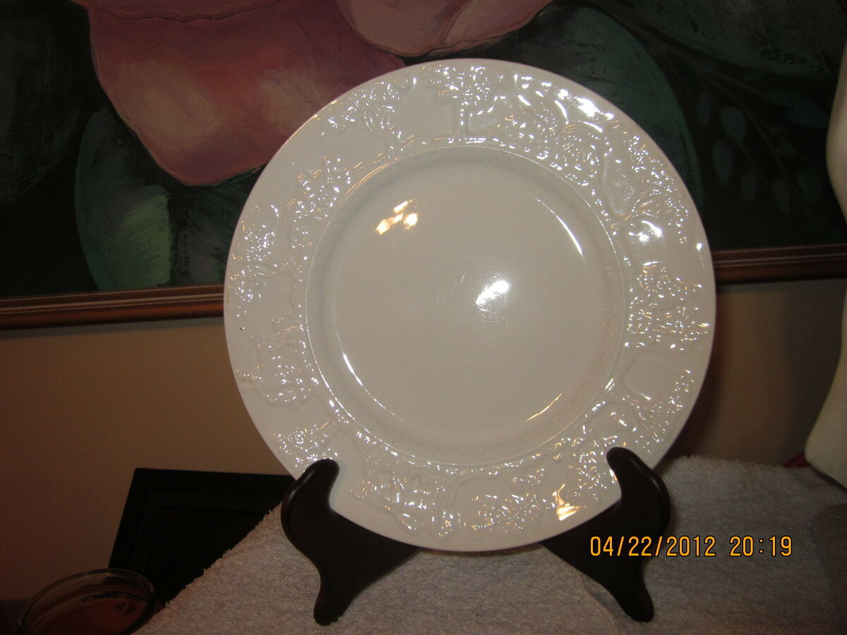 Green Co Hunt Club Salad Plates Church Gresley Potteries 6