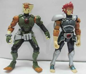Lion Tygra on T443 Lot Of 2 Thundercats Lion O Tygra Bandai Action Figure Loose B