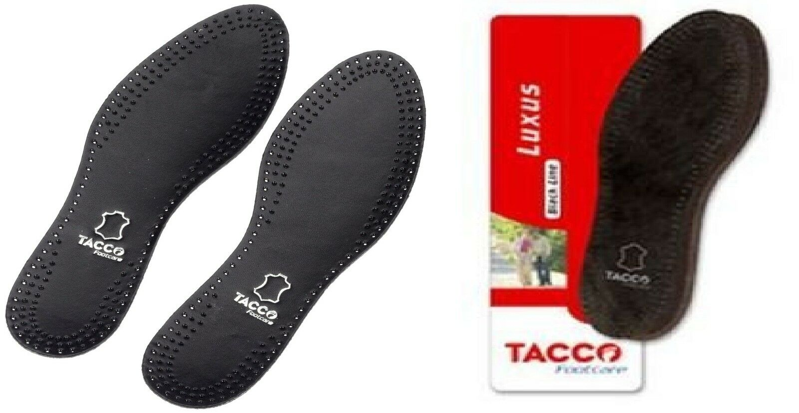 tacco 713 luxus black orthotic arch support leather