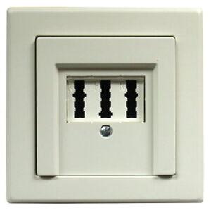 tae nfn unterputz telefon dose mit merten abd polarwei ebay. Black Bedroom Furniture Sets. Home Design Ideas