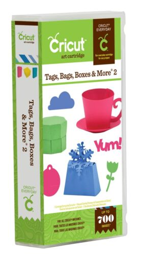 TAGS, BAGS, BOXES & MORE 2 Cricut Cartridge Brand New Sealed! in Crafts, Scrapbooking & Paper Crafts, Scrapbooking Tools | eBay