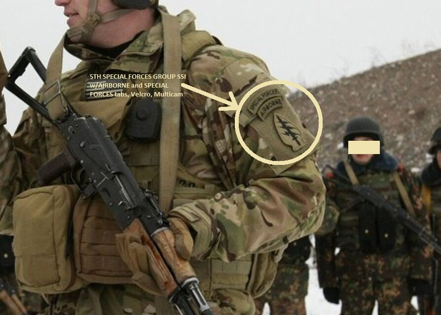 Talizombie 169 Whacker Jsoc 5th Special Forces Group Ssi W Sf