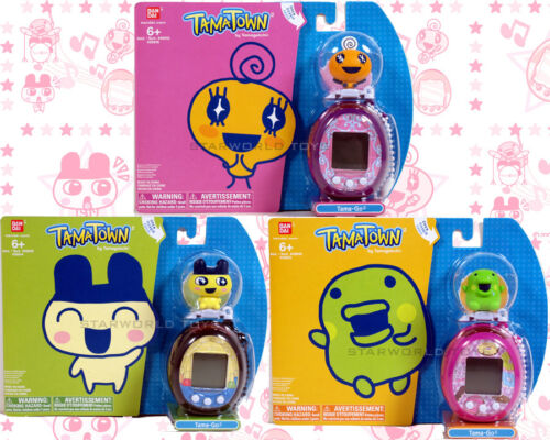 TAMAGOTCHI TAMATOWN TAMA-GO ELECTRONIC PETS LOT of 3! PINK PURPLE & BLACK NEW in Toys & Hobbies, Electronic, Battery & Wind-Up, Electronic & Interactive | eBay