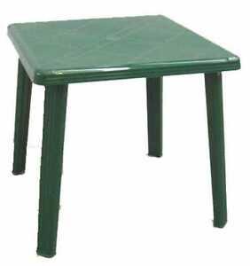 Tavolo in plastica quadrato da giardino tavolo in resina - Tavolo di plastica da giardino ...