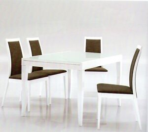 Tavolo tavoli sedie moderno cucine cucina sedia design legni moderni legno ebay - Tavoli cucina moderni ...