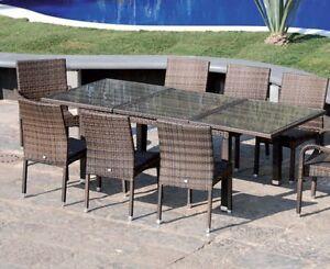 Tavolo tavoli vimini sedie poltrona poltrone esterno - Sedie giardino esterni ...